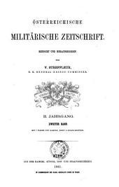 Streffleurs militärische Zeitschrift: Band 2