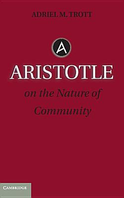 Aristotle on the Nature of Community PDF