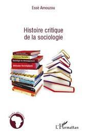 Histoire critique de la sociologie