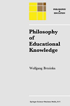 Philosophy of Educational Knowledge PDF