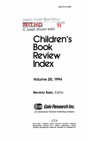 Children s Book Review  1994 PDF