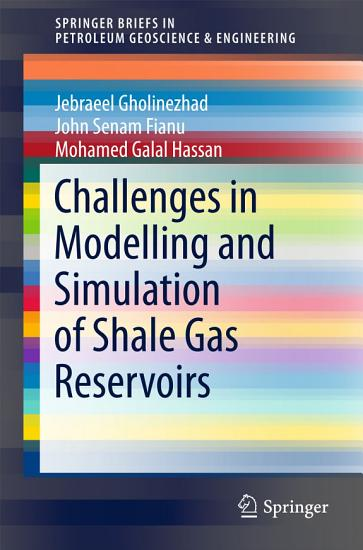Challenges in Modelling and Simulation of Shale Gas Reservoirs PDF
