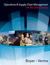 Operations and Supply Chain Management for the 21st Century PDF