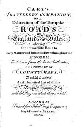 Cary's Traveller's companion, or, A delineation of the turnpike roads of England and Wales