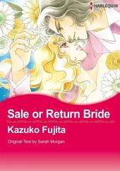 Sale Or Return Bride: Harlequin Comics