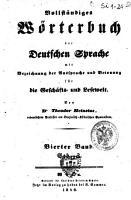 Vollstandiges Worterbuch der deutschen Sprache mit Bezeichnung der Aussprache und Betonung fur die Geschafts  und Lesewelt PDF