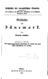 Geschichte von Dännemark: Band 5