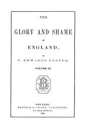 The Glory and Shame of England: Volume 2
