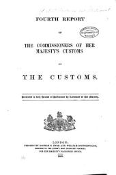 Report of the Commissioners of His Majesty's Customs ...