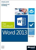 Microsoft Word 2013   Das Handbuch PDF