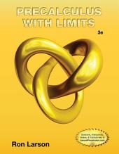 Precalculus with Limits: Edition 3