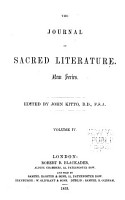 The Journal of Sacred Literature PDF