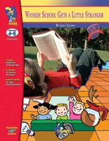 Wayside School Gets a Little Stranger by Louis Sachar   a Novel Study PDF