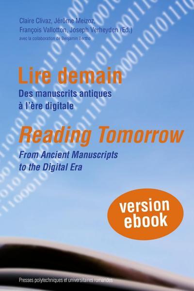 Download Lire demain   Reading Tomorrow Book