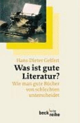 Was ist gute Literatur  PDF