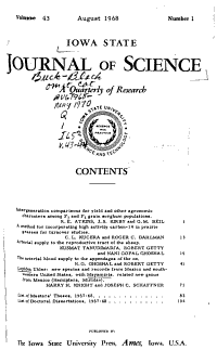 Iowa State Journal of Science