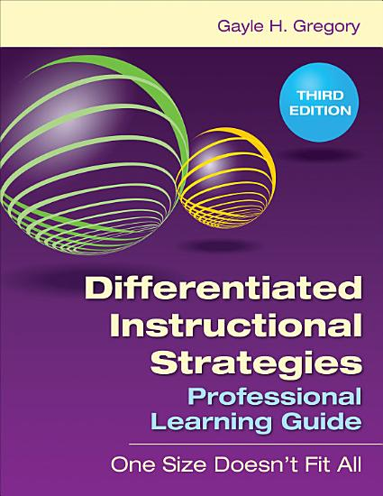 Differentiated Instructional Strategies Professional Learning Guide PDF