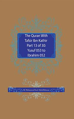 The Quran With Tafsir Ibn Kathir Part 13 of 30 PDF
