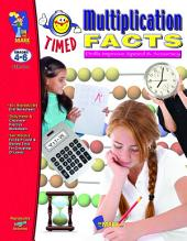 Timed Multiplication Facts Gr. 4-6