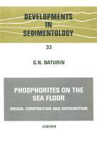 Phosphorites on the Sea Floor PDF