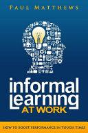 Informal Learning at Work