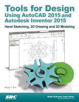 Tools for Design Using AutoCAD 2015 and Autodesk Inventor 2015 PDF