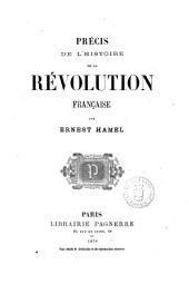 Précis de l'histoire de la Révolution française