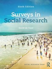 Surveys In Social Research: Edition 6