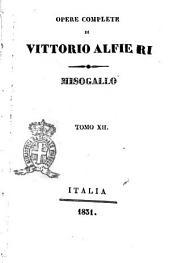 Opere complete di Vittorio Alfieri: Misogallo, Volume 12