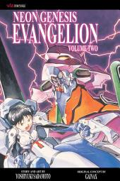 Neon Genesis Evangelion, Vol. 2 (2nd Edition): a flaming sword, which turned every way