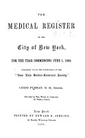 The Medical Register of New York  New Jersey  and Connecticut     PDF