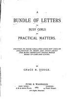 A Bundle of Letters to Busy Girls on Practical Matters PDF