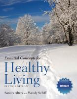 Essential Concepts for Healthy Living Update PDF
