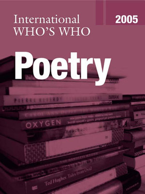International Who s Who in Poetry 2005 PDF