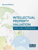 BVR s Intellectual Property Valuation Case Law Compendium PDF