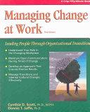 Managing Change at Work
