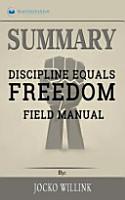 Summary of Discipline Equals Freedom PDF