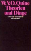 Theorien und Dinge PDF