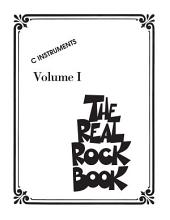 The Real Rock Book (Songbook): C Instruments