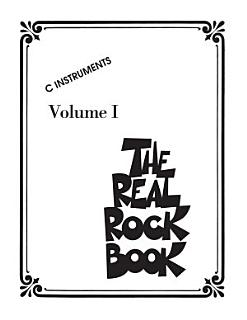 The Real Rock Book  Songbook  Book