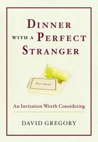 Dinner with a Perfect Stranger PDF