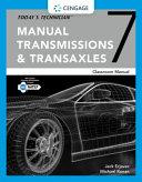 Today s Technician  Manual Transmissions   Transaxles Classroom Manual PDF