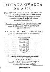 Asia. Dos feitos que os Portugueses fizeram na conquista e descobrimento das terras e mares do Oriente: Volume 1