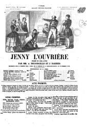 Jenny l'ouvrière: drame en cinq actes