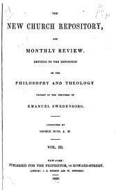 Anglo-American New Church Repository and Monthly Review: 1851-Feb., 1854, Volume 3