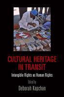 Cultural Heritage in Transit PDF