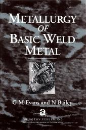 Metallurgy of Basic Weld Metal