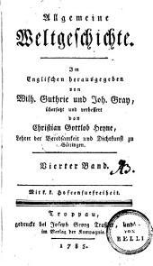 Allgemeine Weltgeschichte: 4