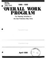 Overall Work Program for the San Francisco Bay Area PDF