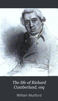The Life of Richard Cumberland  Esq PDF